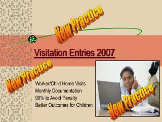 Visitation Entries 2007