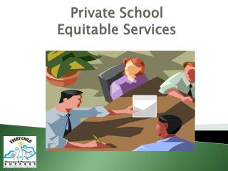 Private School  Equitable Services