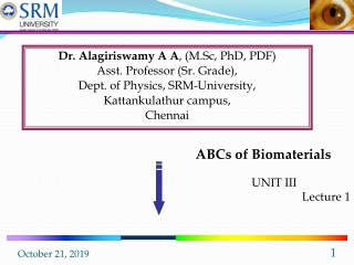 Polymeric Materials  Polymer-Polymer Compatibility  Lecture 18