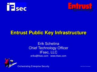 Entrust Public Key Infrastructure