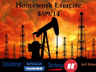 Homework Exercise  4/09/14