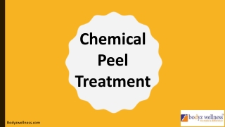 Facial Chemical Peels