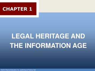Legal Heritage and the Information Age