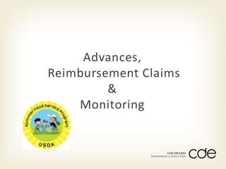 Advances, Reimbursement Claims &  Monitoring