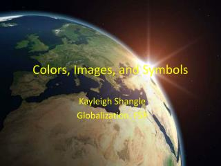 Colors, Images, and Symbols