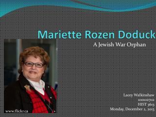 Mariette Rozen Doduck