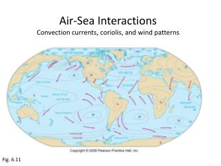 Air-Sea Interactions Convection currents,  coriolis , and wind patterns