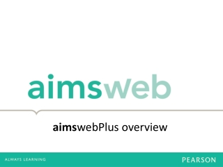 aims webPlus overview