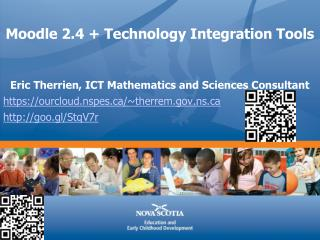 Moodle 2.4 + Technology Integration Tools
