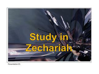 Study in Zechariah