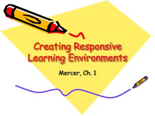 creating effective learning environments for learners A negative learning environment, or setting that adversely affects student learning, can affect ms martin's students in many ways, such as low student achievement, poor behavior, student anxiety.