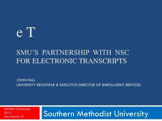 Southern Methodist University