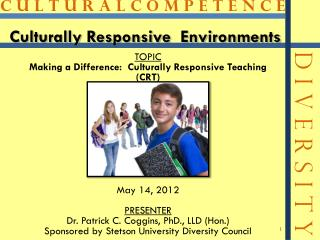 Culturally Responsive  Environments