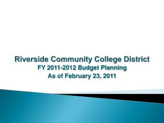 Riverside Community College District