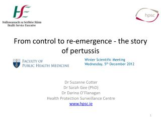 From  control  to  re-emergence -  the  story  of  pertussis