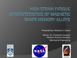 High Strain Fatigue Characteristics of Magnetic Shape Memory Alloys