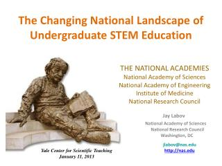 The Changing National Landscape of Undergraduate STEM Education