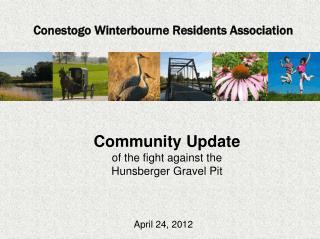 Community Update of the fight against the Hunsberger  Gravel Pit