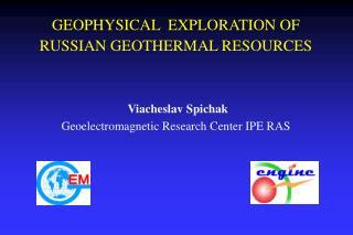 GEOTHERMAL RESOURCES OF RUSSIA