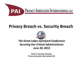 Privacy Breach vs. Security Breach
