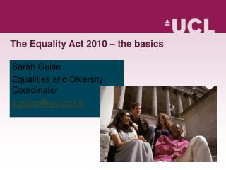 The Equality Act 2010   the basics