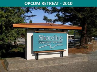 OPCOM RETREAT - 2010
