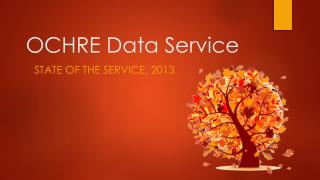 OCHRE Data Service