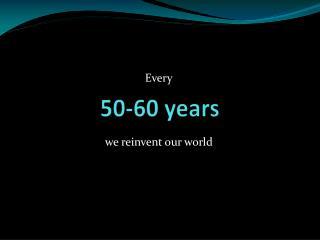 50-60 years