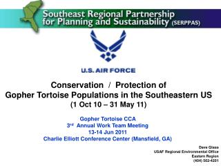 Conservation  /  Protection of  Gopher Tortoise Populations in the Southeastern US