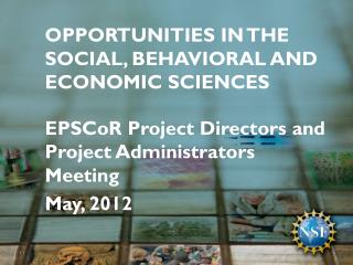 Opportunities in the Social, Behavioral and Economic Sciences