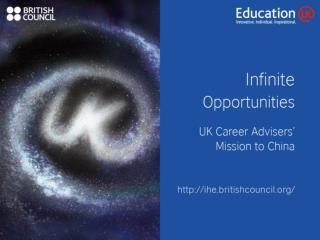 2013 UK Careers Adviser Mission to China