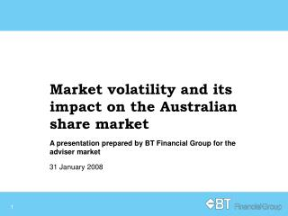 Market volatility and its impact on the Australian share market