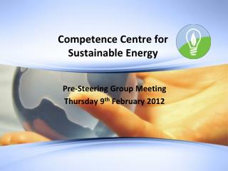 Competence Centre for  Sustainable Energy