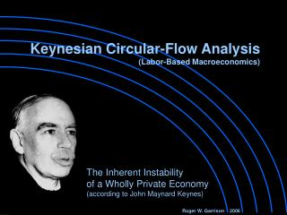 Keynesian Circular-Flow Analysis Labor-Based Macroeconomics
