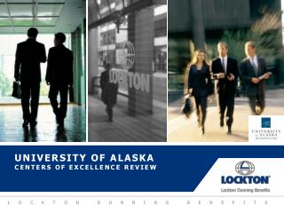 University of Alaska  Centers of excellence review