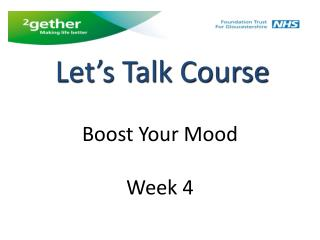 Boost Your Mood Week 4