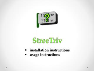 installation instructions usage  instructions