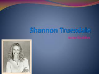 Shannon Truesdale
