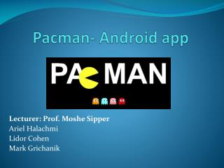 Pacman - Android app