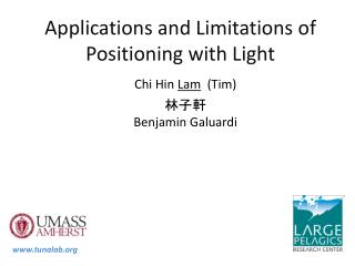 Applications and Limitations of Positioning with Light