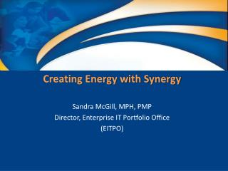 Creating Energy with Synergy