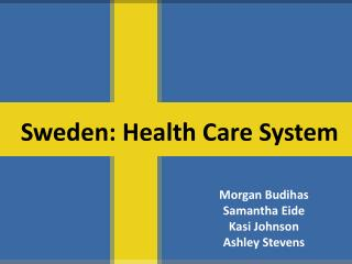 Sweden: Health Care System