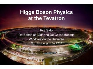 Higgs  Boson  Physics  at  the  Tevatron