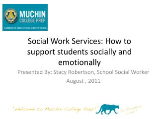 Social Work Services: How to support students socially and emotionally