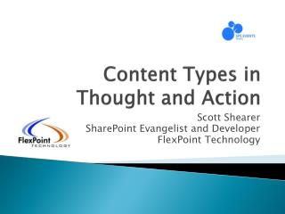 Content Types in Thought and Action