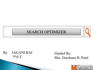 SEARCH OPTIMIZER