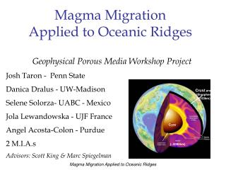 Geophysical Porous Media Workshop Project