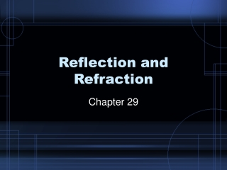 Chapter 29  Reflection