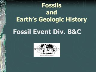 Fossils  and  Earth's Geologic History