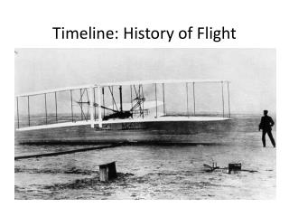 Timeline: History of Flight